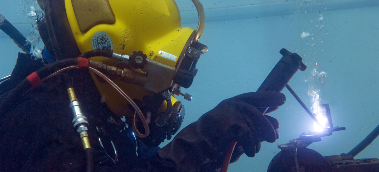 Cda technical institutes commercial diver program commercial diving and underwater welding xflitez Choice Image