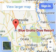 Blue Grotto - Google Map Image