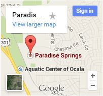 Paradise Springs - Map Image