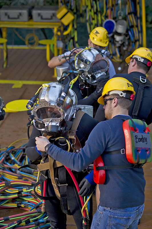 commercial diving operations