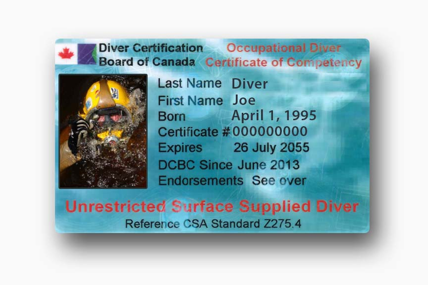 Unrestricted Surface Supplied Diving Certification from CDA Technical Institute