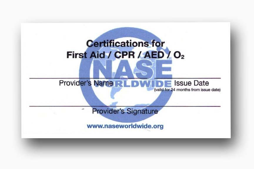 Dive Medic Certification from CDA Technical Institute