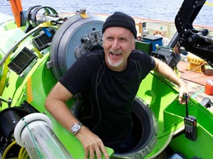 James Cameron - Solo Sub Dive