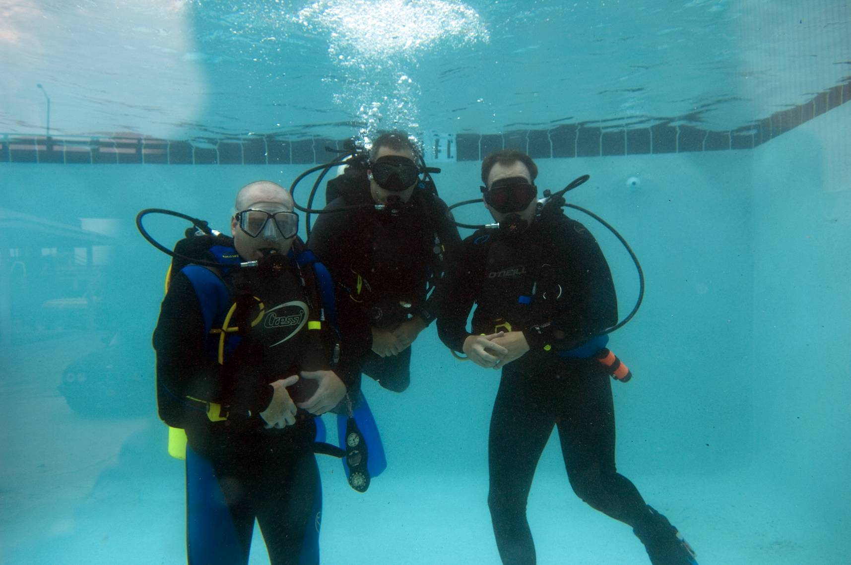 Dive training at CDA Technical Institute