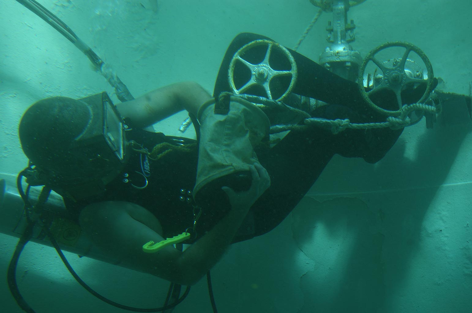 Underwater Welding Training at CDA Technical Institute